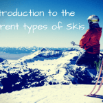 An introduction to different types of skis