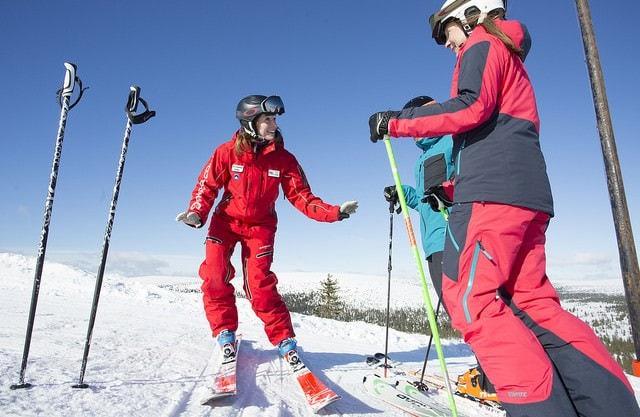 ski lessons in France