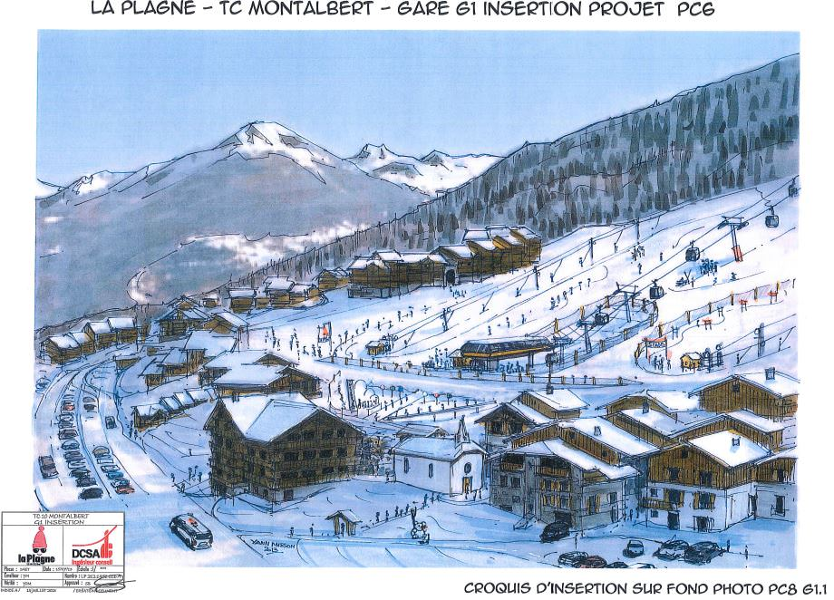 New Gondola to benefit La Plagne Montalbert