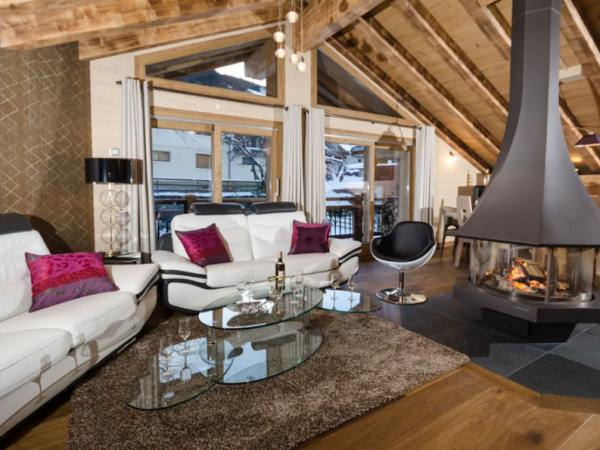 Luxury catered chalet in Courchevel