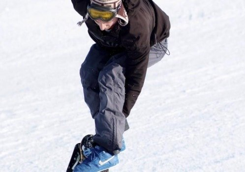 Snow Skate Snow skate, it's a skateboard adapted for the snow quite tricky if you don't skateboard but easy to learn if you do. Capable of a range of skateboard tricks and a few you can only do on snow.