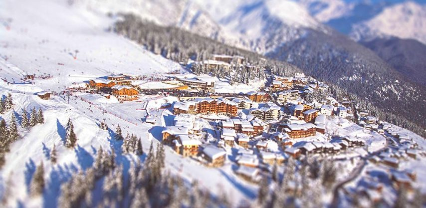 A beautiful view over La Rosiere