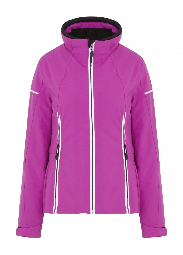 Pink Hyra ski jacket from TK Maxx