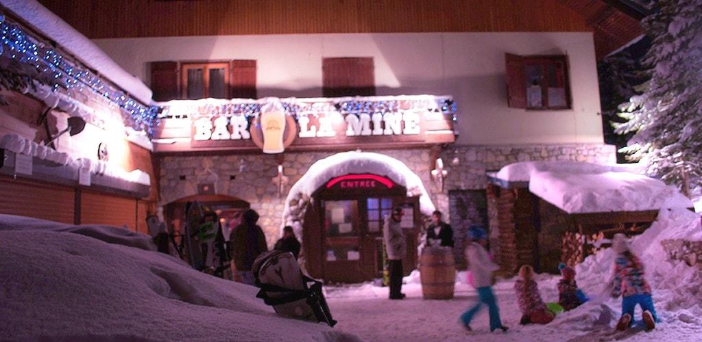 Bar La Mine in La Plagne 1800