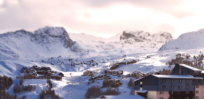 Ski accommodation in La Plagne