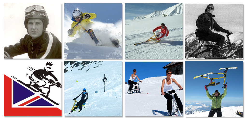 Ski biking around the world