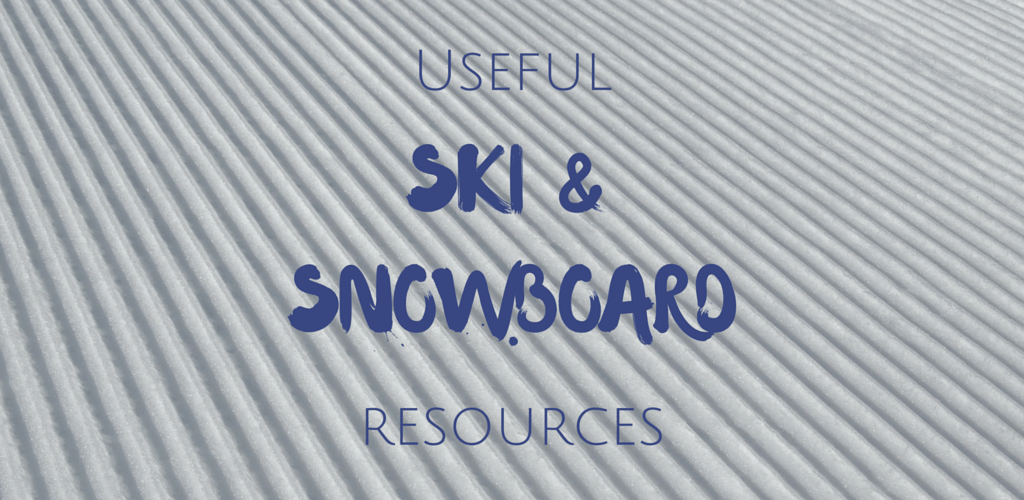 The best resources for skiers and snowboarders