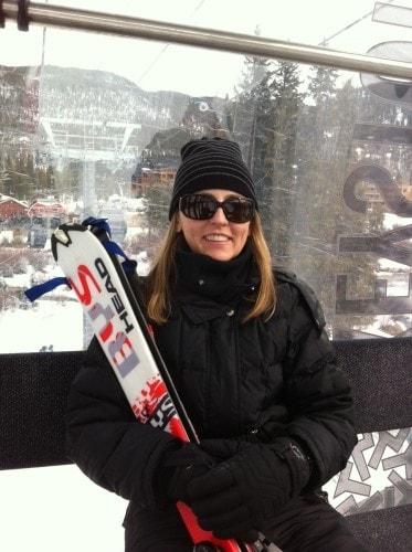 Colleen Lanin Travel Mamas on a ski holiday