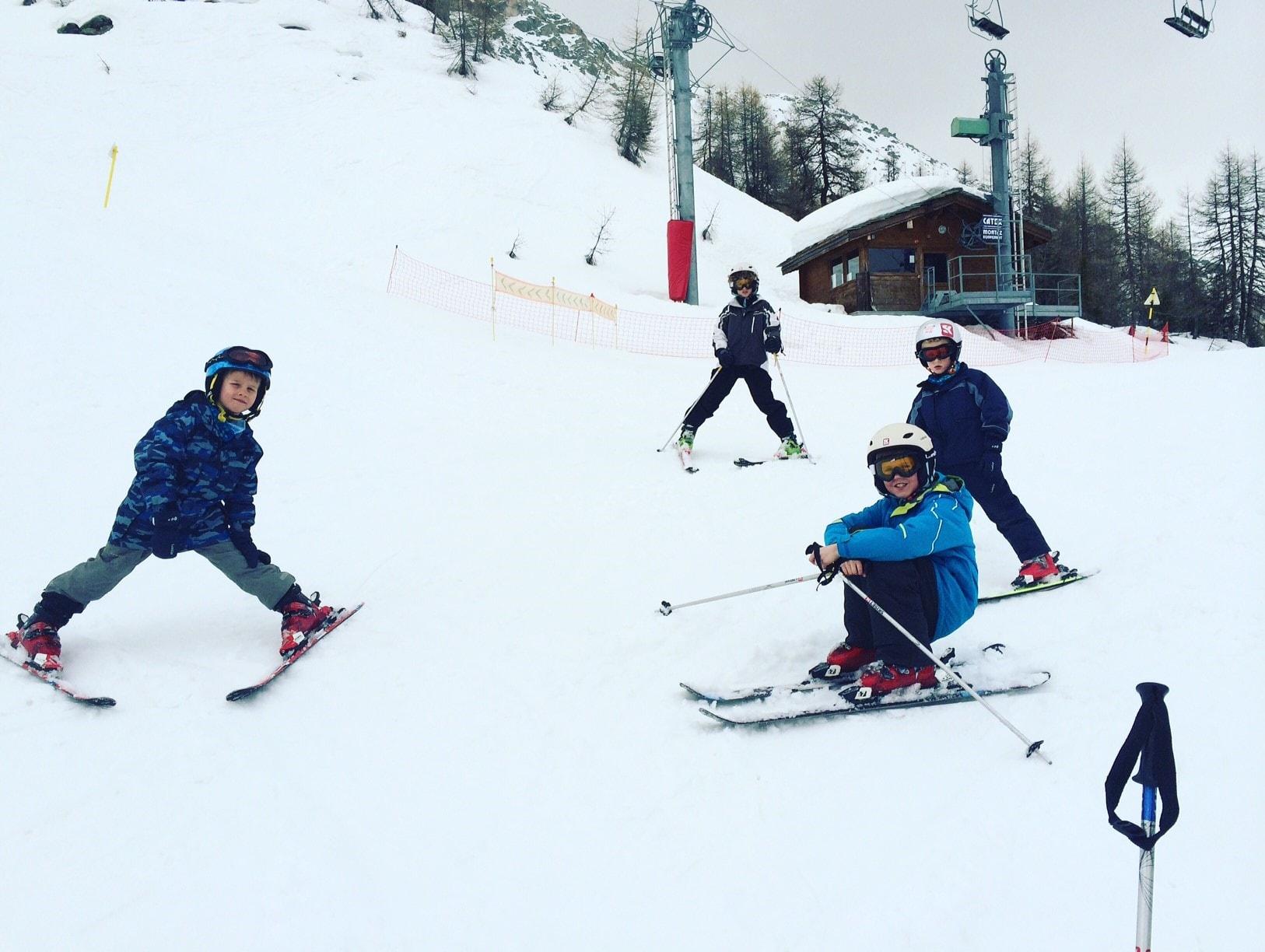 Snoob Angelique ski holiday