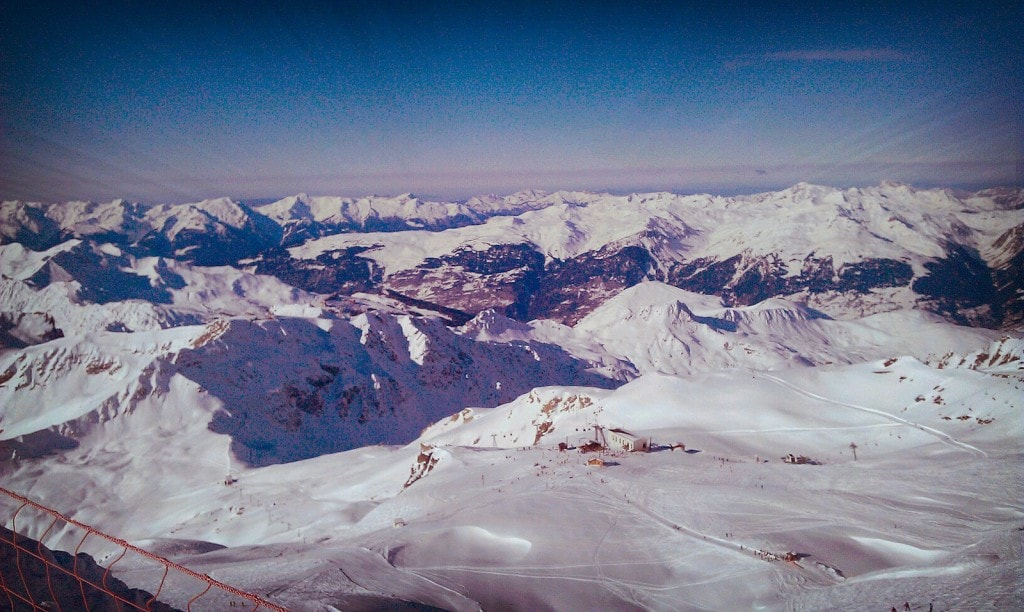 Glacier de Bellecôte, Paradiski