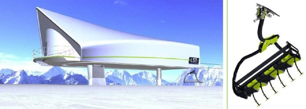 New ski lifts in La Plagne in 2016/2017