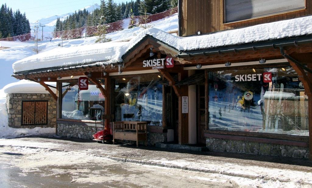 SkiSet ski equipment hire shop