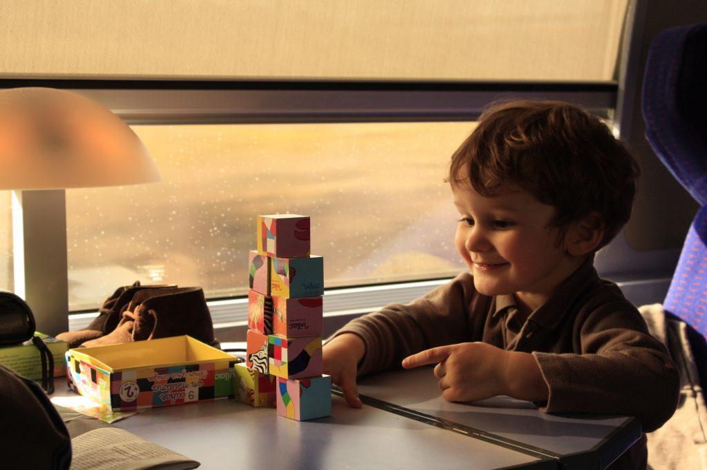 Boy on TGV