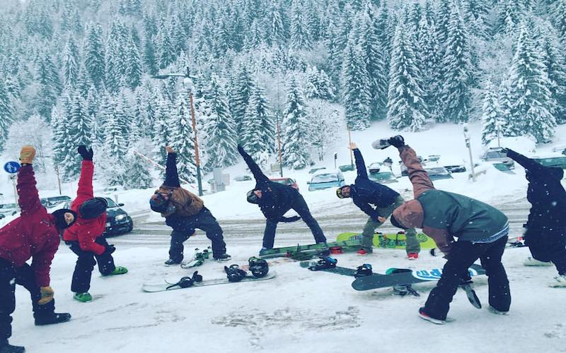 Tammy Yoga for Snowboarders
