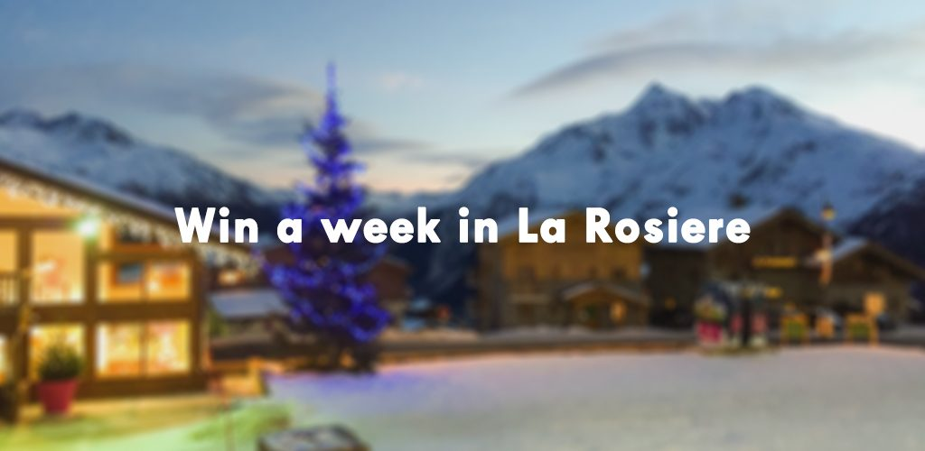 Win a week in a catered chalet