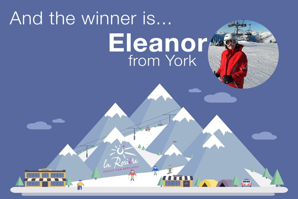ski holiday competition winner