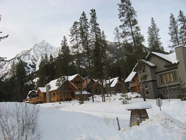 Ski chalet accommodation