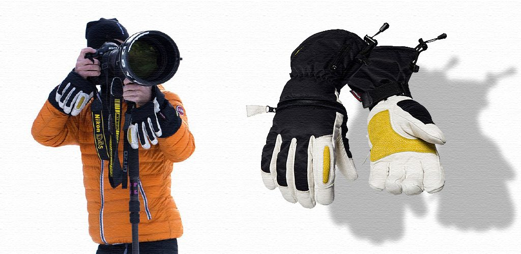 Win ski gloves!