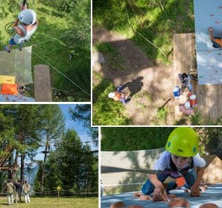 Fun for the kids in Adventure Forest Image credit – valdanniviers.ch