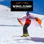Wing jump ski gear
