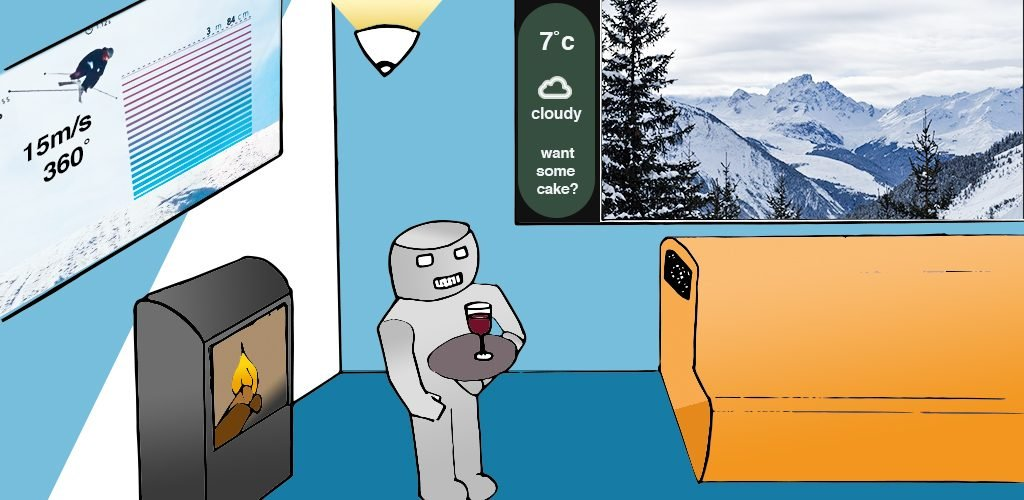 The Ski Chalet of The Future