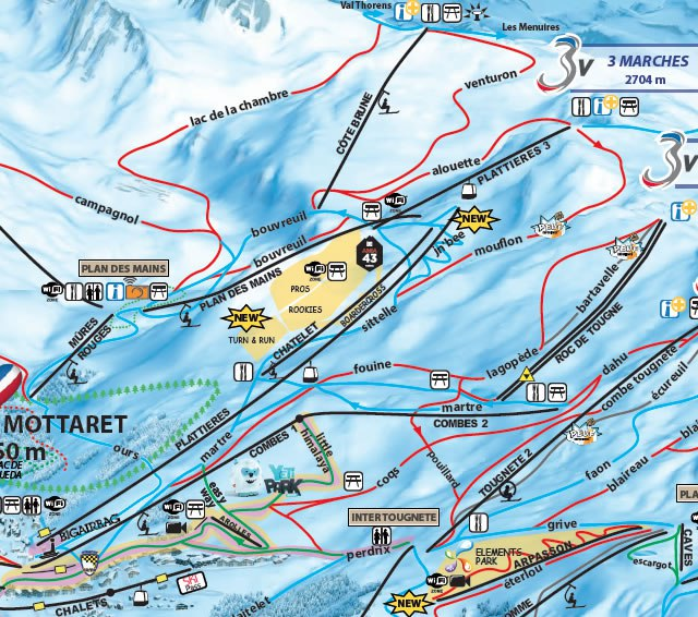 Meribel Welcome the New Roc de Tougne Ski Lift Mountain Heaven Blog