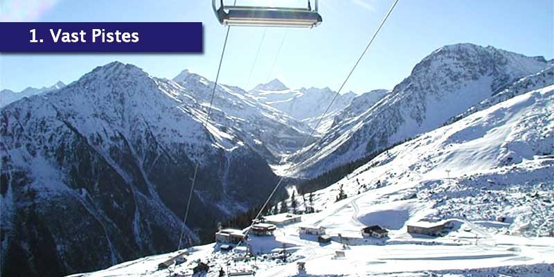 <h3>Grimentz's Pistes</h3>The Val d'Anniviers is known for it's most extensive and untouched off-piste terrains in the Alps. The skiing in Grimentz is between 1500m to around 3000m and the majority of the 50km of pistes is above 2100m, allowing it to be snow secure. You can experience open pistes to forest runs, easy blues and very steep blacks which most of the time are in excellent condition.<br></br>Backcountry skiing is about getting away from the crowds so you can do your own thing and focus on your skiing and in the Val d'Anniviers, slopes don't get skied out like they do in larger resorts. We suggest walking with your skis enhances your off piste opportunities and find some hidden gems yourselves.