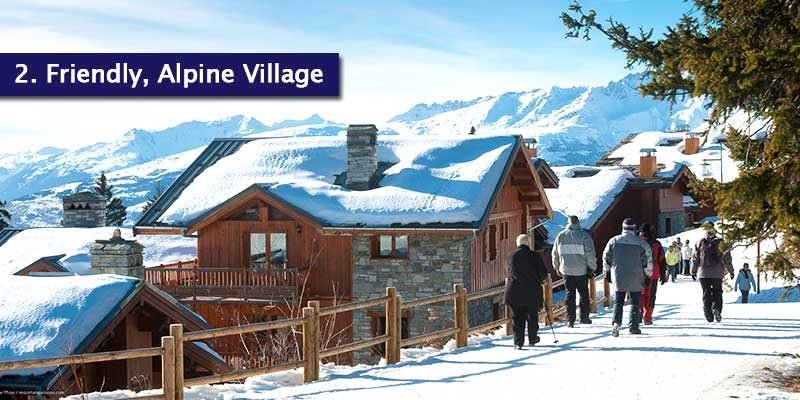 """<h3>Friendly & Laid Back Village</h3>La Rosiere is close to Val d'Isère, Tignes and Les Arcs but it has a completely different personality. It's quite smaller and quieter than most resorts, instead of lively ski bars and restaurants. Check out our ski guide for <a href=""""https://www.mountainheaven.co.uk/blog/all-about-la-rosiere/"""">La Rosiere</a>.<br></br>With it being a quiet and more family orientated resort, what's most appealing is that everything is convenient and bars, restaurants and shops are only a short walk away, so your legs will be thankful after spending days up in the mountains.<br></br>Be sure to check out Caffè Latte; a cosy restuarants bar which serve breakfast and lunch as well as Le Plan du Repos, a charming restaurant that serves some great dishes."""