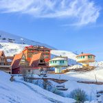Shemshack ski resort iran
