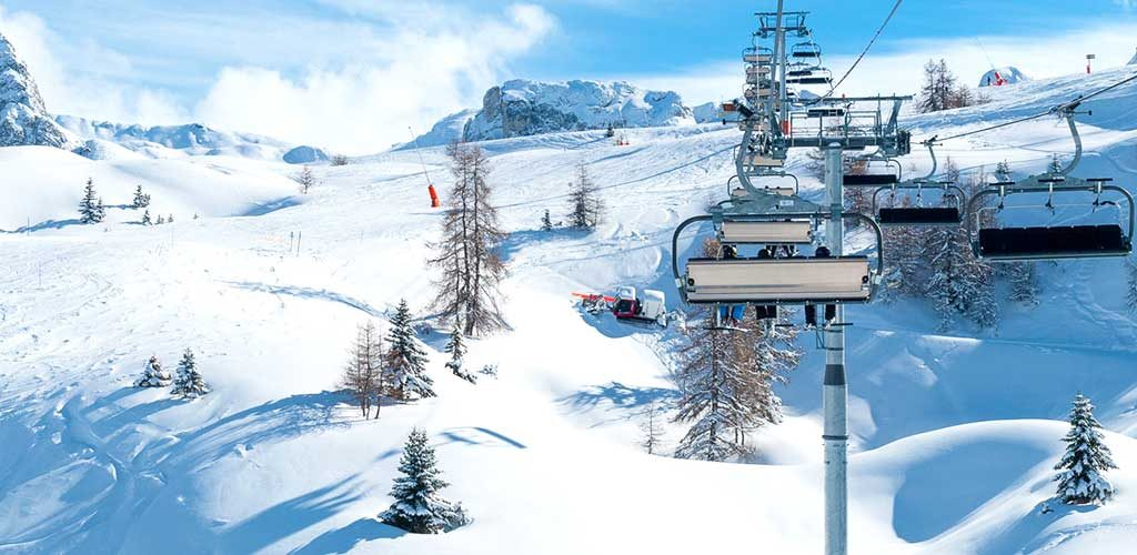 New Crozats chairlift in La Plagne