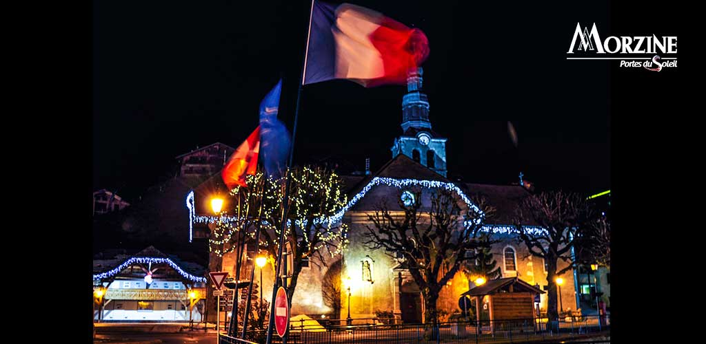 Morzine town centre