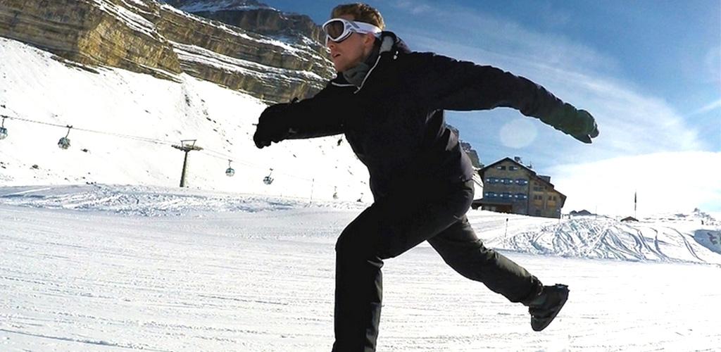 Snowfeet mini skis