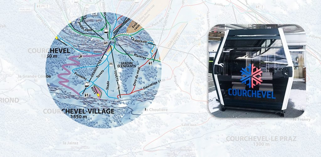 New gondola in Courchevel for 2018 season