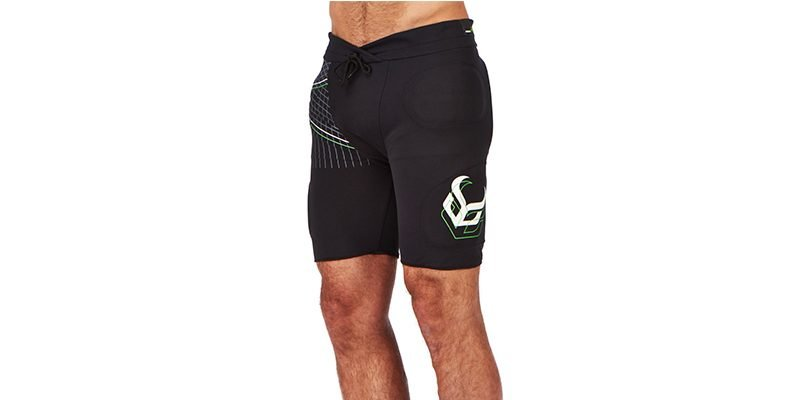 <h3>Impact shorts</h3>Impact shorts offer protection in some of the most important areas. They use shock absorbing, high density foam padding over the hips, thighs and buttocks.<br></br>Snowboarders are big users of impact shorts as if you take on the rails and perform tricks and stunts, it's a possibility that you can go over backwards and land on your buttocks right on a metal rail which hurts badly at the best of times and causes spinal injury at worst.<br></br>There's only so much falling on our bums we can take before buying some impact shorts starts to make good sense.</br></br>
