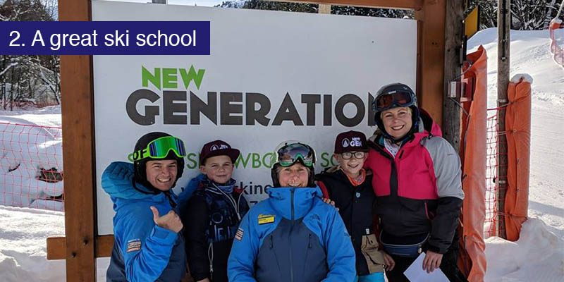 """<h3>A good ski school</h3>Getting young children out on the mountainside safely can be a challenge no matter what their level of ability, with close supervision an experienced parent can be the one to conduct them around the pistes and coach them in their skills. Doing this for a solid week can be a strain and it's when you're under strain that mistakes are made and things can get a little less fun. </br></br>Booking your children into a <a href=""""https://www.skinewgen.com""""target=""""_blank"""">good ski school</a> for some lessons gives parents the chance to let loose on the slopes and provides children with a safe environment to build their skills. It can take the pressure off and make managing kids on the snow for a week a whole lot easier for parents."""