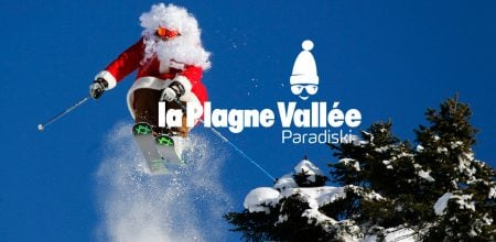 la plagne at christmas
