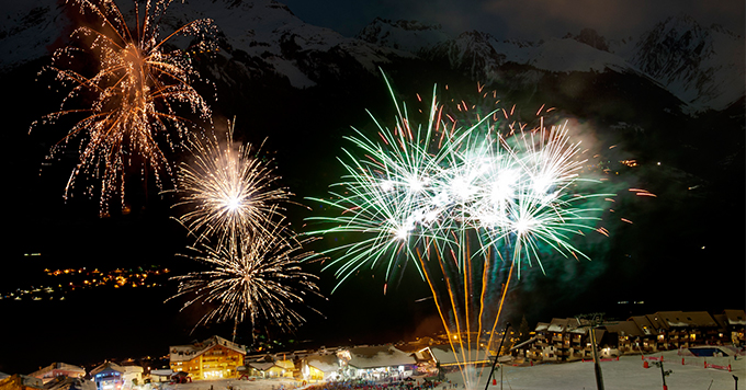 la plagne firework display