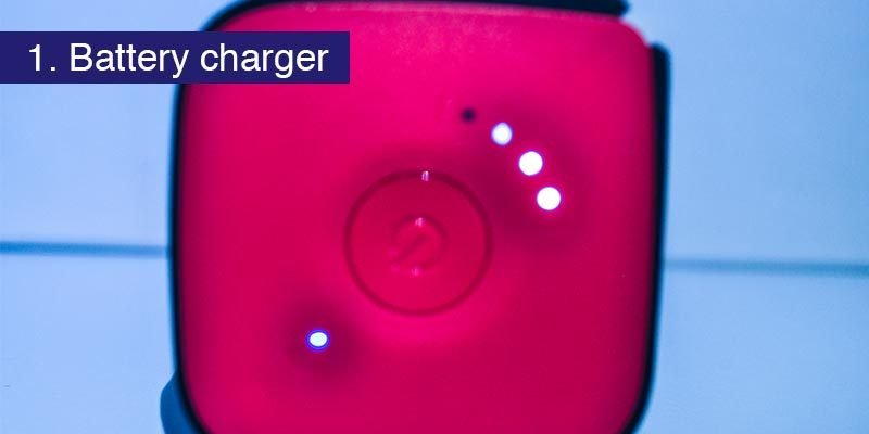 <h3>It's a battery</h3> We'll start with the simplest feature of all. It has a 10400mAh battery capable of fully charging most smartphones. It is described as a wireless travel router, so charging your gadgets is not even one its main functions. The battery runs all its other features so of course if you use it up charging your phone, it'll need some charge before it can go back to being a router. So if you need a bit of occasional juice, this little box provides that as one of it's B-list features. We also have a smaller solar battery pack we use, we find we can run both it and the TripMate out of charge and then plug the solar charger (strapped to the outside of a rucksack), into the TripMate (stashed inside the bag) and head out into the snow on a sunny day and both will be fully charged by the end of it. So it's a handy power bank! Off to a good start for the HooToo TripMate Titan
