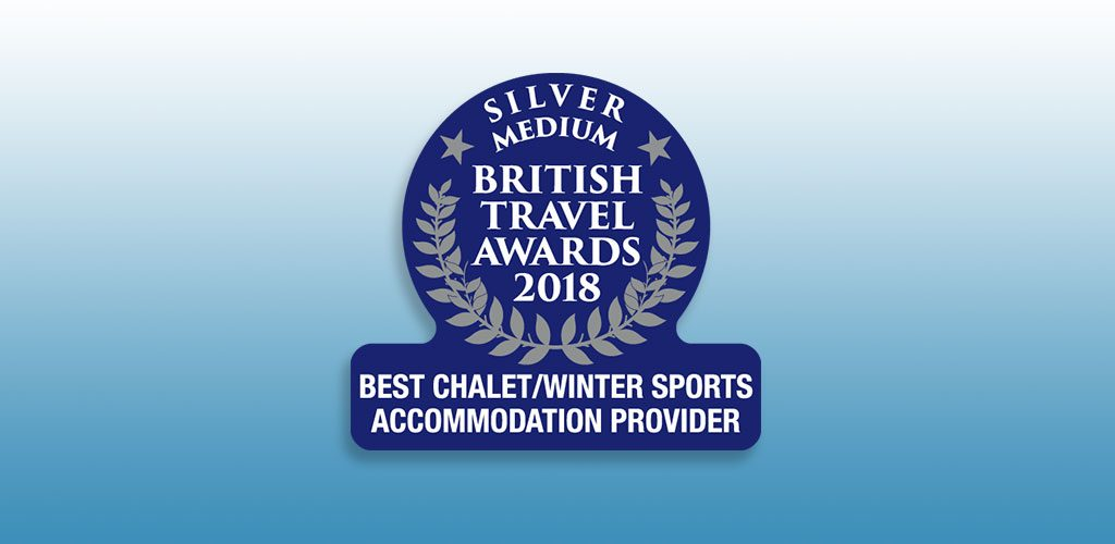 Mountain Heaven win British Travel Award