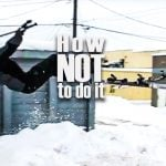 Snow park fail videos