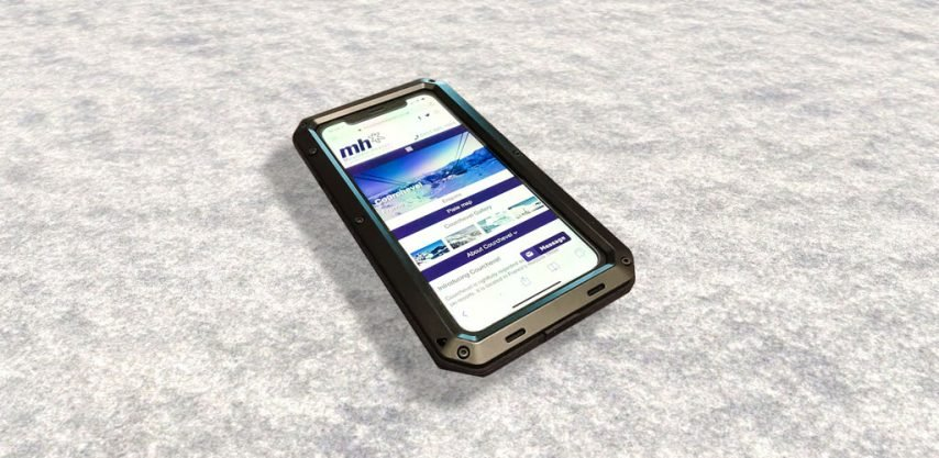 protect your phone while skiing