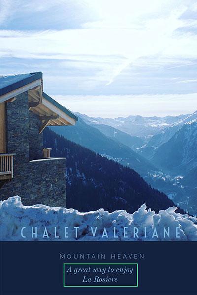 Chalet Valeriane La Rosiere