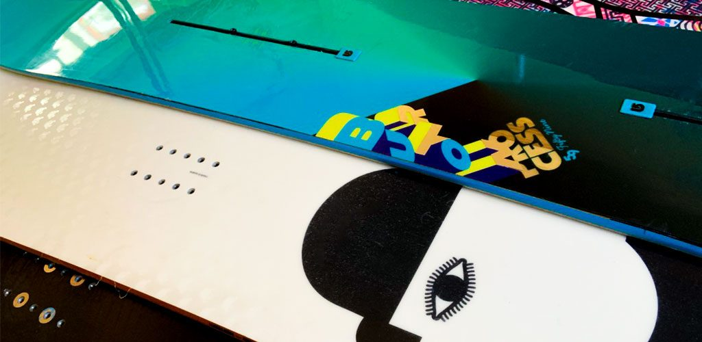 Different snowboard binding systems