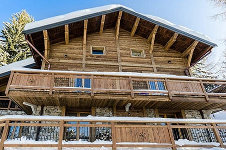 catered chalet in La Plagne 1800
