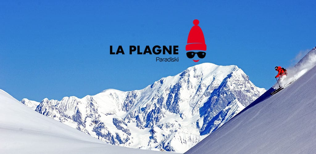 snow conditions in La Plagne
