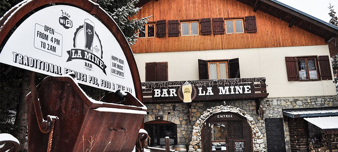 La Plagne Bar La Mine