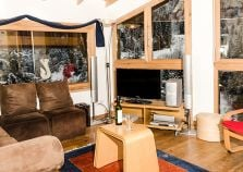 Living area in catered Morzine chalet