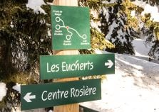 La Rosiere trails