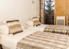 A lovely chalet twin room