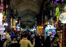 Visit the market in Tehran